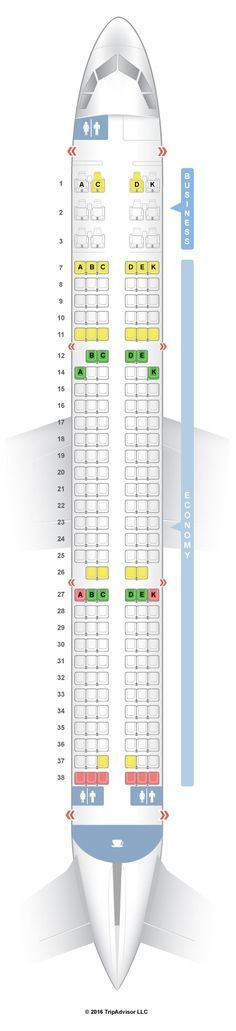 For Your Next American Airlines Flight Use This Seating Chart To Get The Most Comfortable Seats Legroom And Recline On Boeing International