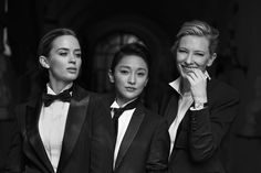 Cate Blanchett, Emily Blunt and Zhou Xun Suit Up for New IWC Schaffhausen Ad Campaign - WOMEN IN SUITS #girlpower