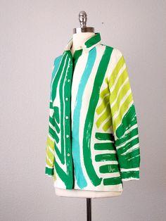 Vintage 1960s Vera Neumann blouse
