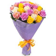 Артикул: 035-167                       Расскажите о нас друзьям: Состав букета: 25 роз розового, белого, желтого цвета, оформление Размер: Высота букета 60 см Роза: Выращенная в Украине http://rose.org.ua/bukety-iz-roz/1281-5-roz.html #букеты #букетроз #доставкацветов #RoseLife #flowers #SendFlowers #купитьрозы #заказатьрозы   #розыпоштучно #доставкацветовкиев #доставкацветовукраина #срочнаядоставка #заказатьрозыкиев