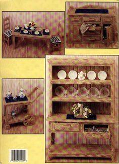 The Dining Room 14 Barbie Furniture, Dollhouse Furniture, Doll Accessories, House Accessories, Barbie Sets, Barbie Kitchen, Plastic Mesh, Plastic Canvas Christmas, Barbie Patterns