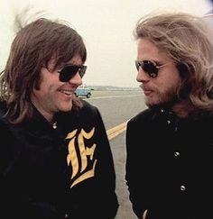 Randy Meisner & Don Felder Great Bands, Cool Bands, History Of The Eagles, Randy Meisner, Eagles Band, Glenn Frey, Jackson Browne, Musica