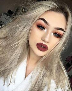 Holiday makeup looks; promo makeup looks; wedding makeup looks; makeup looks for brown eyes; glam makeup looks. Cute Makeup, Prom Makeup, Gorgeous Makeup, Pretty Makeup, Amazing Makeup, Edgy Makeup, Scary Makeup, Simple Makeup, Wedding Makeup