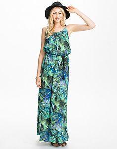 Only Hermine Long Dress | Femmes - Vêtements - Robes