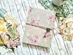 Fabric Vintage journal. Vintage Journals, Fabric Book Covers, Fabric Journals, Vintage Windows, Some Cards, Key Pendant, Handmade Items, Handmade Gifts, Vintage Ephemera