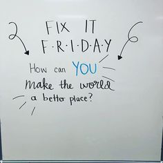 Whiteboard prompts - Whiteboard Prompt this format allows students to see the prompt from anywhere in the room and work on it at their desks individually This prompt also encourages positive acts and attitudes from stu Journal Topics, Morning Activities, Daily Writing Prompts, Bell Work, Responsive Classroom, Teaching Tools, Teaching Theatre, Teaching Ideas, Future Classroom