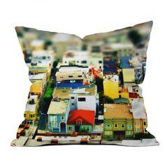 Shannon Clark Mini City Throw Pillow