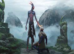 As incríveis ilustrações de fantasia para o game Magic: the Gathering de Chase Stone