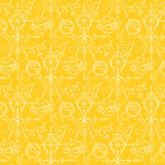 Alison Glass - Sun Print Mercury - Mercury in Yellow