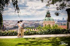 wonderful prewedding photo shoot in summer prague #prague #prewedding