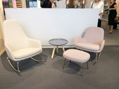 Rounded corners and a soft palette for funishings in evidence at Maison et Objet 2014