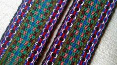 READY TO SHIP_ Ukrainian Woven Belt Sash Woven by WovenSlavicBelts