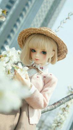 Cute Short Bob hair Beautiful Barbie Dolls, Pretty Dolls, Kawaii Doll, Realistic Dolls, Smart Doll, Living Dolls, Anime Dolls, Doll Repaint, Monster High Dolls