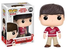 This Ferris Bueller's Day Off Cameron Frye Pop! Vinyl Figure features Alan Ruck as Ferris' partner in crime, Cameron Frye. Complete with his Detroit Red Wings jersey, Cameron is ready for the day off. This figure measures approximately 3 3/4 inches tall and comes packaged in a window display box. Ages 14 and up. #funko #popvinyl #actionfigure #collectible #FerrisBuellersDayOff #CameronFrye