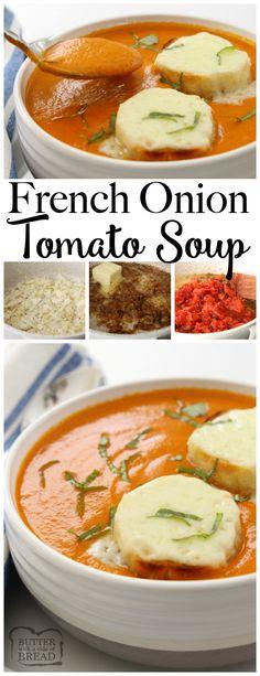 French Onion Tomato Soup