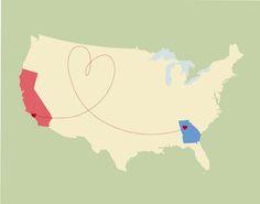 california ~ georgia love