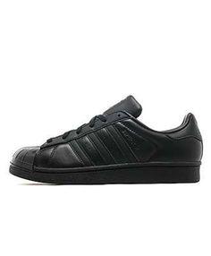 online store e5e87 fa105 Adidas Superstar Womens Black Sale UK Cheap Trainers T-1272