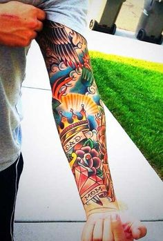 Traditional Tattoo Sleeves