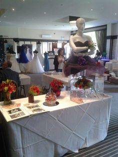 Table at wedding fayre