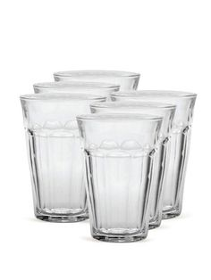 12-Ounce Picardie Tumblers (Set of 6) by Duralex on Gilt Home