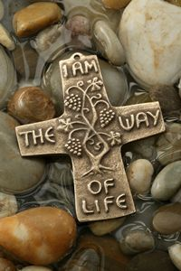 Crosses Decor, Wall Crosses, Clay Cross, Bronze Gifts, Christian Decor, Christian Symbols, Wooden Necklace, Precious Metal Clay, Polymer Clay Projects