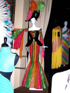 More Bob Mackie costumes worn by Cher - Sotheby's Auction
