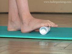 danse classique exercice cou de pied