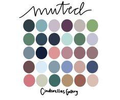 Spring Color Palette, Colour Pallette, Colour Schemes, Color Combos, Web Design Trends, Color Swatches, Color Theory, Muted Colors, Color Inspiration