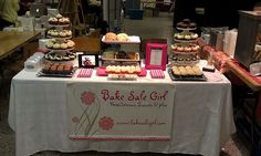 bake sale table display - Google Search