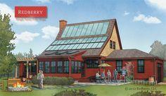Redberry: modular solar homes. nice hous, hous idea, solar energi, frugal live, decor idea