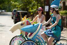 great atlanta bicycle parade by thatgirlsab, via Flickr