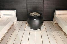 www.coconutwhite.com Modern Saunas, Sauna Shower, Sauna Steam Room, Wellness Spa, Black Decor, Basin, Home Appliances, Haku, Bathrooms