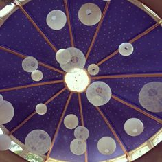 The dome looked gorgeous last weekend thanks to @forthe_love_ofweddings and @hanginglanterncompany