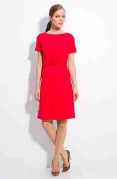 Milly 'Dottie' Ponte Knit Dress