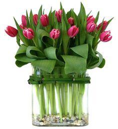 Wedding Flowers Tulips Bouquet Vase 45 Ideas For 2019 Tulpen Arrangements, Floral Arrangements, Deco Floral, Arte Floral, Floral Design, Beautiful Flower Arrangements, Beautiful Flowers, Tulip Bouquet, Floral Centerpieces