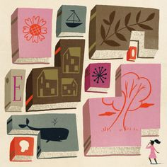 """""""What is it, exactly, about genre that is unliterary—and what is it in 'the literary' that resists genre?"""" Joshua Rothman considers how we ought to be thinking about fiction: http://nyr.kr/1uUv1XC (Illustration by Ellen Surrey)"""