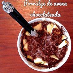 RECETA FITNESS/ Porridge de avena chocolateada - Fitfoodmarket