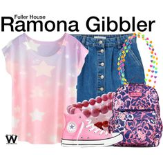 Inspired by Soni Bringas as Ramona Gibbler on Fuller House.