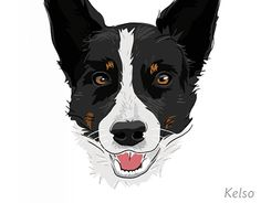 """Check out my new pet portraits on my @Behance portfolio: """"Pet Portraits"""" http://on.be.net/1IDrb73"""