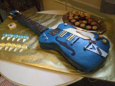 Electric Guitar Cake!