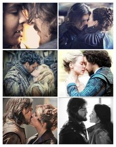 The lovers in the Musketeers