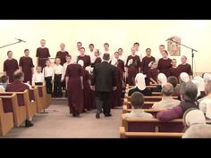 """Down To The River to Pray"" - A Capella singing by Mennonite Children's Choir."