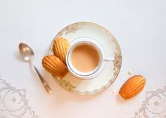 Fictitious Dishes:Swann's Way by Marcel Proust, 1913'One day in winter, as I came home, my mother, seeing that I was cold, suggested that, contrary to my habit, I have a little tea. I refused at first and then, I do not know why, changed my mind. She sent for one of those squat, plump cakes called petites madeleines…'