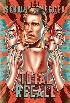 Total Recall #alternative #movie#art#poster #complex #illustration #film #creative
