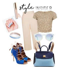 """""""Set#67"""" by elenarudometov ❤ liked on Polyvore featuring Malone Souliers, New Look, Alice + Olivia, MCM, Whistle & Bango, contestentry, laceupsandals and PVStyleInsiderContest"""