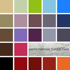 Color de uñas de Amy Pond