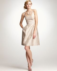 ann taylor - if we want to go with the gold or cream aspect of the colors