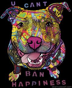 Dean Russo Art — U Can't Ban Happiness T-Shirt