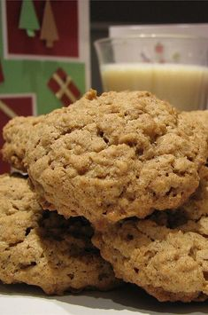 """Kristen's Awesome Oatmeal Cookies 