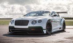 Bentley Continental GT3 debuts at Paris motor show